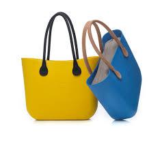 Barvené plastové kabelky O bag