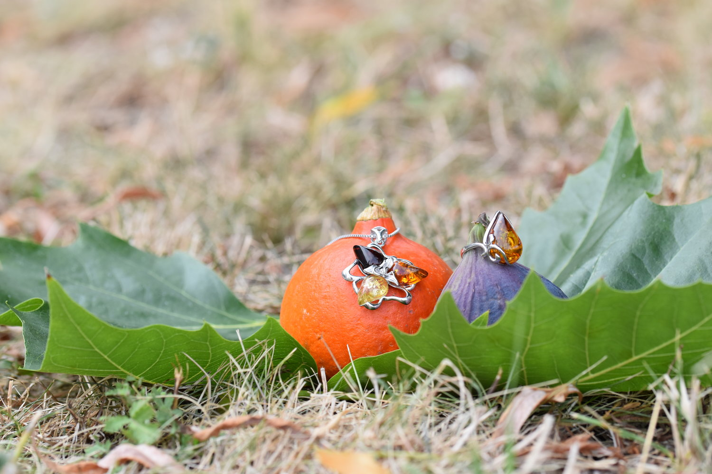 Šperky inspirované barvami podzimu