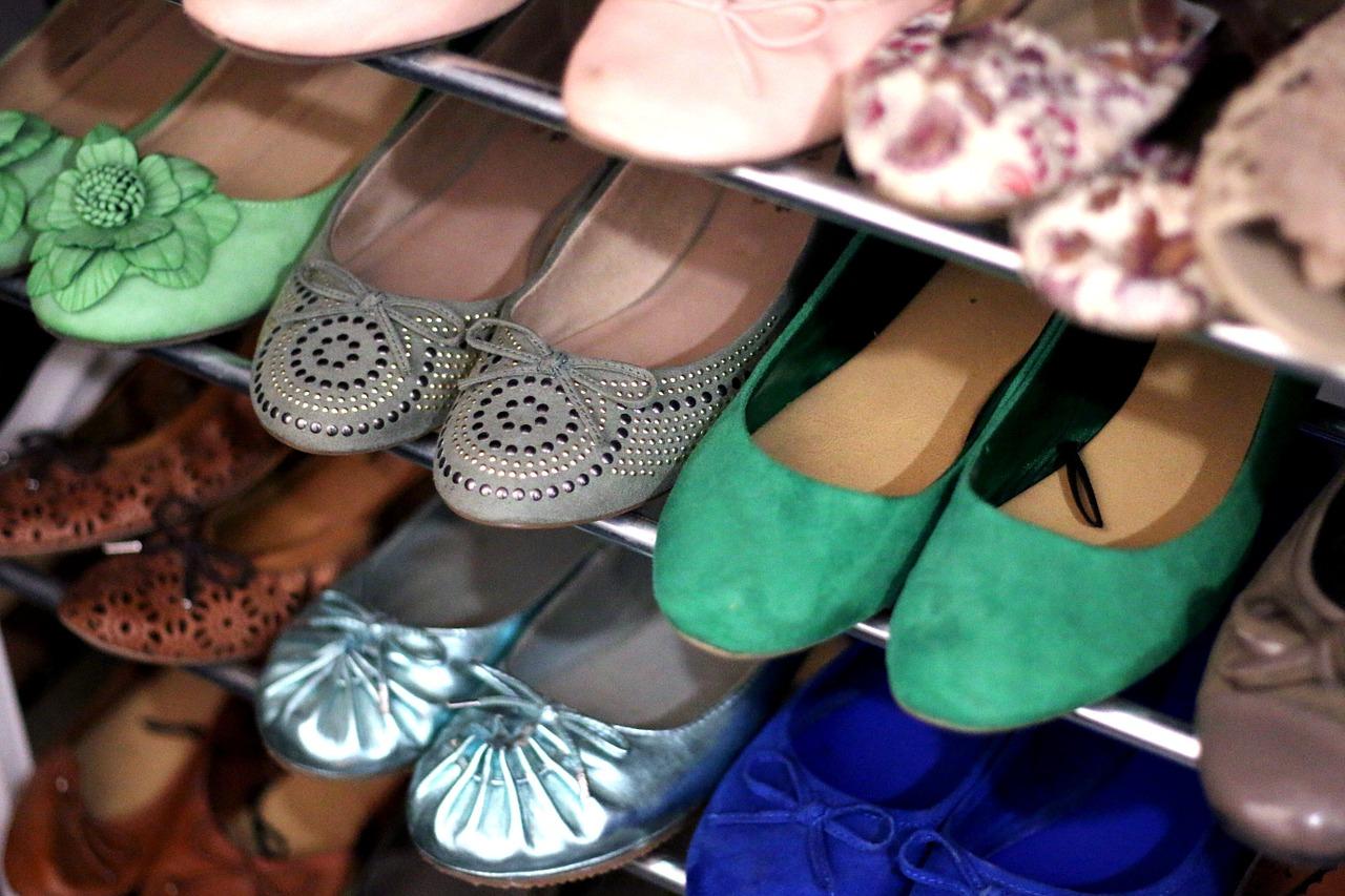 Baleríny jsou vhodná obuv pro každou příležitost