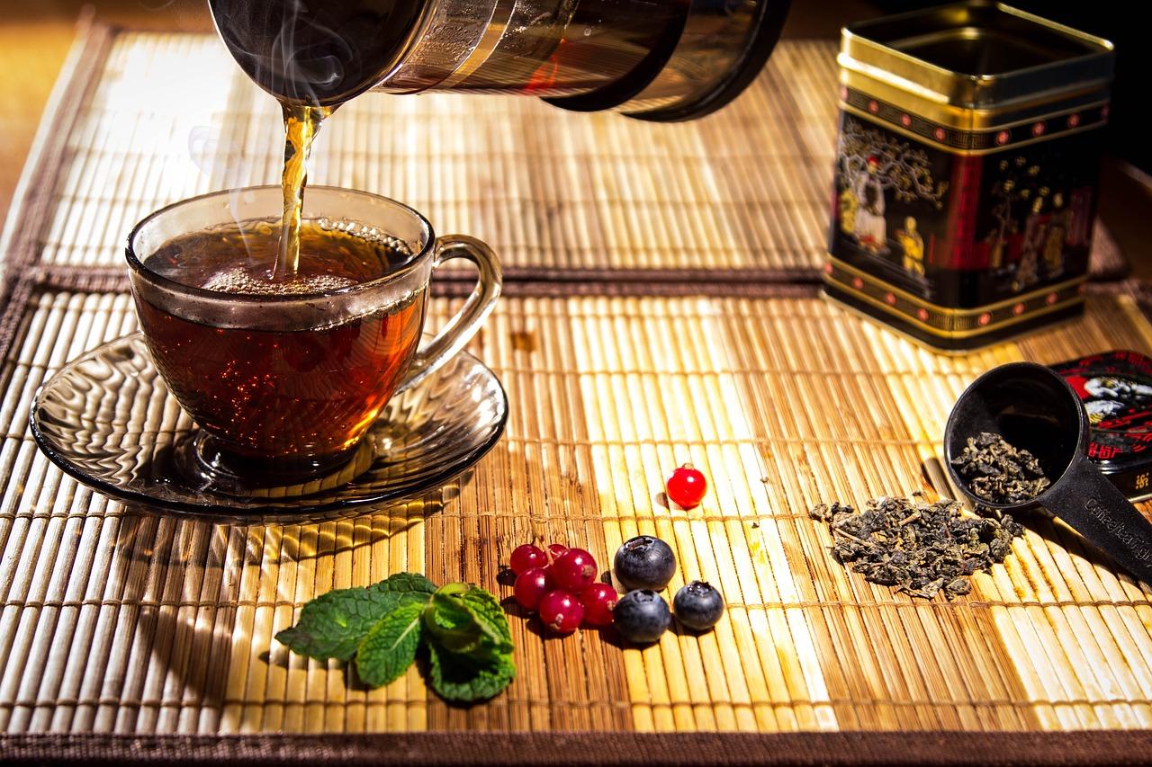 5 čajů pro lepší spánek