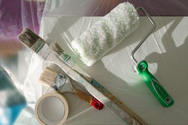 Jak na úklid po malování?